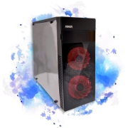 Gabinete Rawar GF-6017B ATX Com 3 Fans