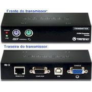 Kit de extensão KVM cat 5 TrendNet TK-EX3, até 150m PS2
