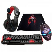 KIT Gamer G-FIRE Teclado, Mouse, Headset, Mouse PAD - KT1427E22214