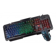 Kit Gamer Teclado e Mouse USB Leadership Sparta TCG-0473