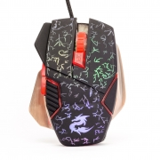 Mouse Gamer Kp-v7 Led Rgb 1600Dpi Base Metálica Knup