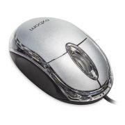 Mouse USB MS-10 Prata EIO Exbom
