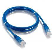 PATCH CORD 2,5 METROS CAT 6E AZUL SECCON