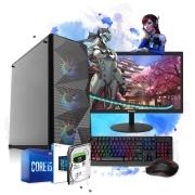 Pc Computador Gamer Completo I5 8gb Hd 1tb Hdmi Placa de Vídeo Monitor