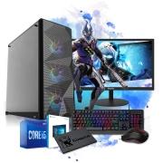 Pc Computador Gamer Completo I5 8GB SSD 240GB Placa De Vídeo