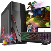 Pc Gamer Completo i3 8gb HD 500 Placa De Video Monitor Wifi
