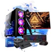 Pc Gamer Completo I5 16gb Ssd120 1tb Placa De Video Monitor