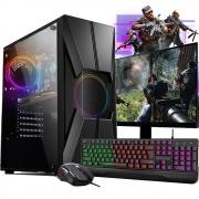 Pc Gamer Completo I5 16gb Ssd 120gb 1tb Placa De Video Monitor