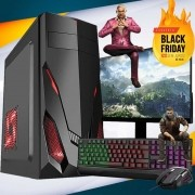 Pc Gamer Completo I5 3GR 8gb Hd 500gb Placa de Vídeo Monitor