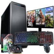 Pc Gamer Completo I5 8gb 1tb Monitor Placa De Video Teclado