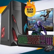 Pc Gamer Completo I5 8gb 1tb Monitor Placa De Video Teclado