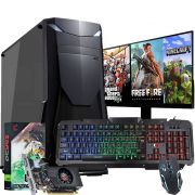 Pc Gamer Completo I5 8gb Hd 1tb Hdmi Wifi Placa de Vídeo Monitor
