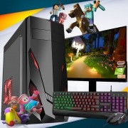 Pc Gamer Completo i5 8gb HD 500 Placa De Video Monitor
