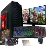 Pc Gamer Completo I5 8gb Ssd 240gb Hd500 Placa De Video 4gb