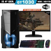 Pc Gamer I5 Gt 1030 8gb Hd 1tb Wifi Monitor
