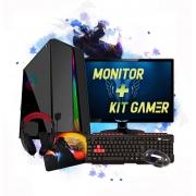 Pc Gamer Completo Intel 8gb Hd500gb R5 230 2gb Hdmi C/Monitor