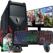 Pc Gamer Completo Intel Core i3 Hd 500gb GT 730 2gb Wifi Hdmi Win10 Monitor