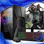 Pc Gamer Completo Intel Core I7 9ª Geração 16gb SSD 240gb 1TB Placa de Video 1660 HDMI 6gb