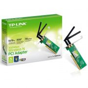 Placa De Rede PCI WIRELLES 300MBPS TL- WN 851-ND TP- LINK