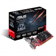 PLACA DE vídeo ASUS RADEON R7 240 04GB PCI-E DDR3