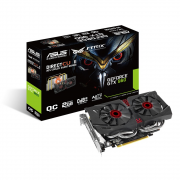 Placa de vídeo VGA ASUS GeForce GTX960 OC 2GB GDDR5 128-bits PCI-E
