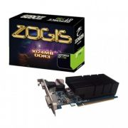 Placa de vídeo VGA Zogis GeForce GT730 1GB DDR3 64Bits Pci-E