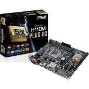 PLACA MÃE ASUS ATX H110M-D D3 LGA 1151