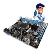 Placa Mãe Atx 1155 Bpc-b75m C/ Hdmi Usb 3.0 Intel