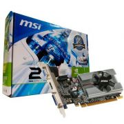 Placa vídeo Vga 1 Gb Pci- Express Gt-201 Ddr-3 Msi