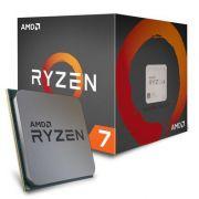 Processador Amd AM4 Ryzen R7-1700 3,0 Base/3,7 Ghz  20 Mb Cache