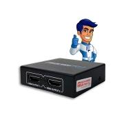 Splitter HDMI Divisor EXBOM 01 Entrada 02 Saídas