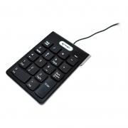 Teclado Pc Usb 2.0 com Fio Numérico 18 Teclas Kp-2003a Knup