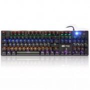 Teclado Usb Gamer RGB 3 Cores Mecânico Kp-2046 Knup