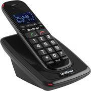 Telefone s/Fio Ts- 63 V Preto Viva Voz Intelbras