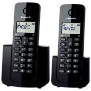 TELEFONE SEM FIO KX-TGB112LBB PRETO PANASONIC