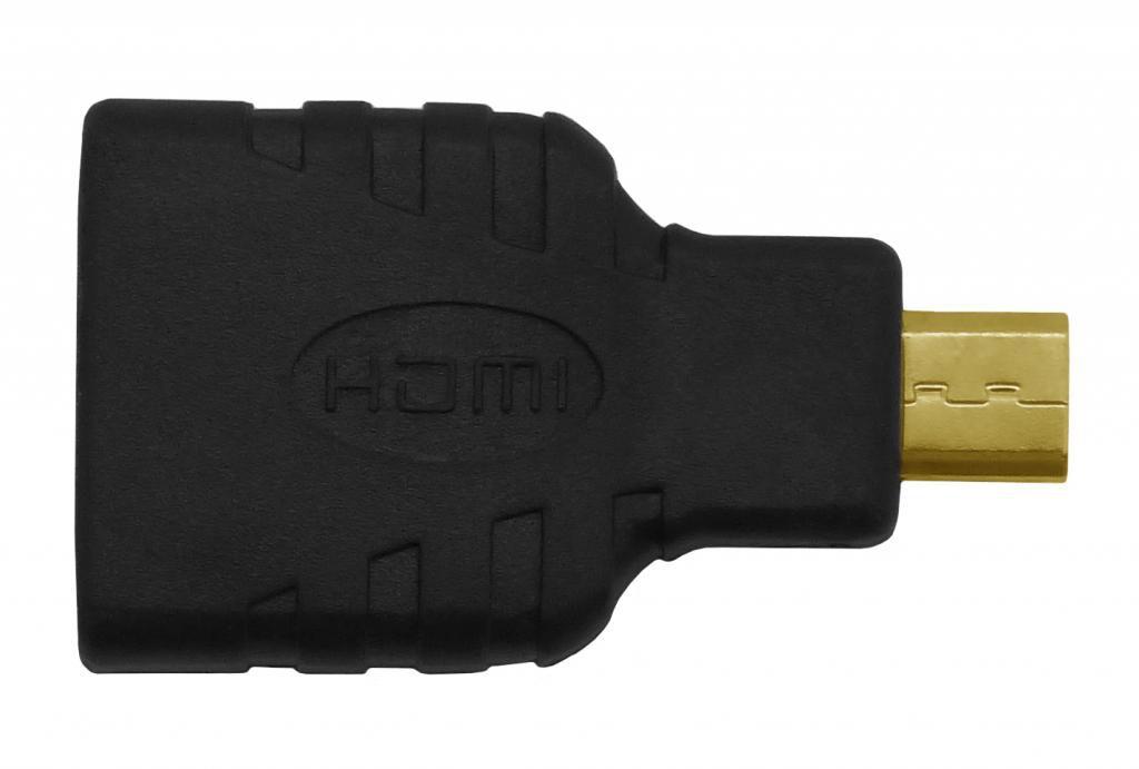 Adaptador Hdmi (f) Para Micro Hdmi (m) Adad610ppb Pixxo