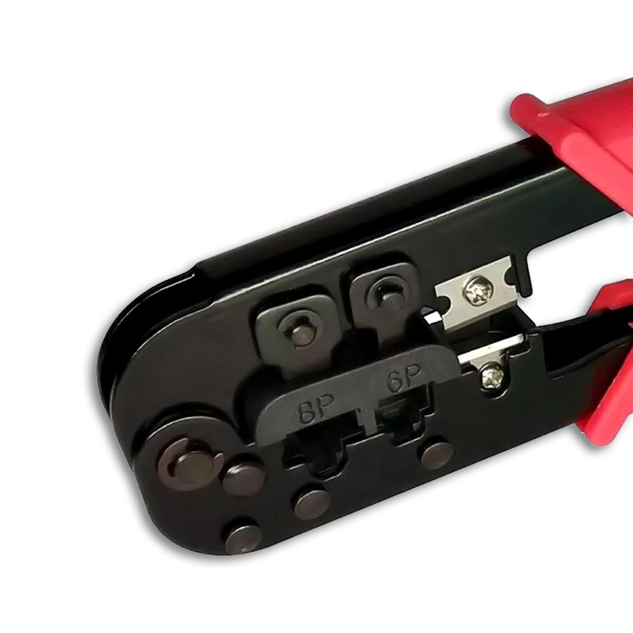 Alicate Para Crimpar Plug Modular GC-568R Com Catraca