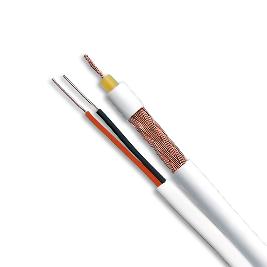 Cabo Coaxial Cftv Fexível 4mm Bipolar 100m Muca2084 Multitoc