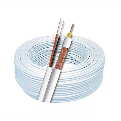 CABO COAXIAL P/ CFTV ROLO C/ 500MTS MULTITOC