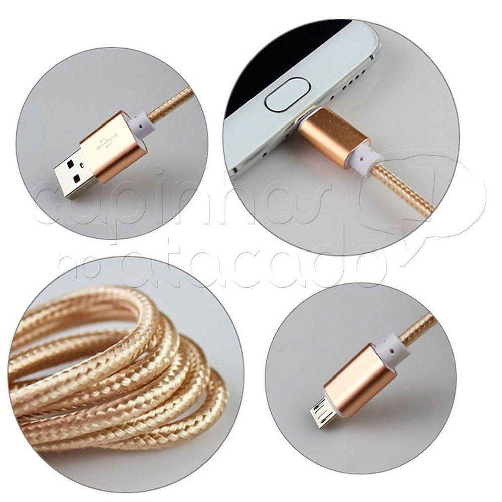 Cabo de Dados USB Iphone Metalizado SJX II Shinka