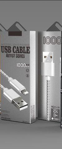 Cabo de Dados USB V-8 Metalizado SJX II Shika