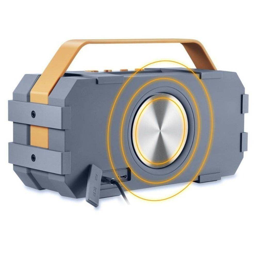 Caixa De Som Bluetooth A prova d'Água M-90 Shocker Jonter