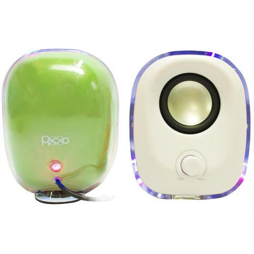 Caixa de Som Sp 018u-5psr Verde Pixxo