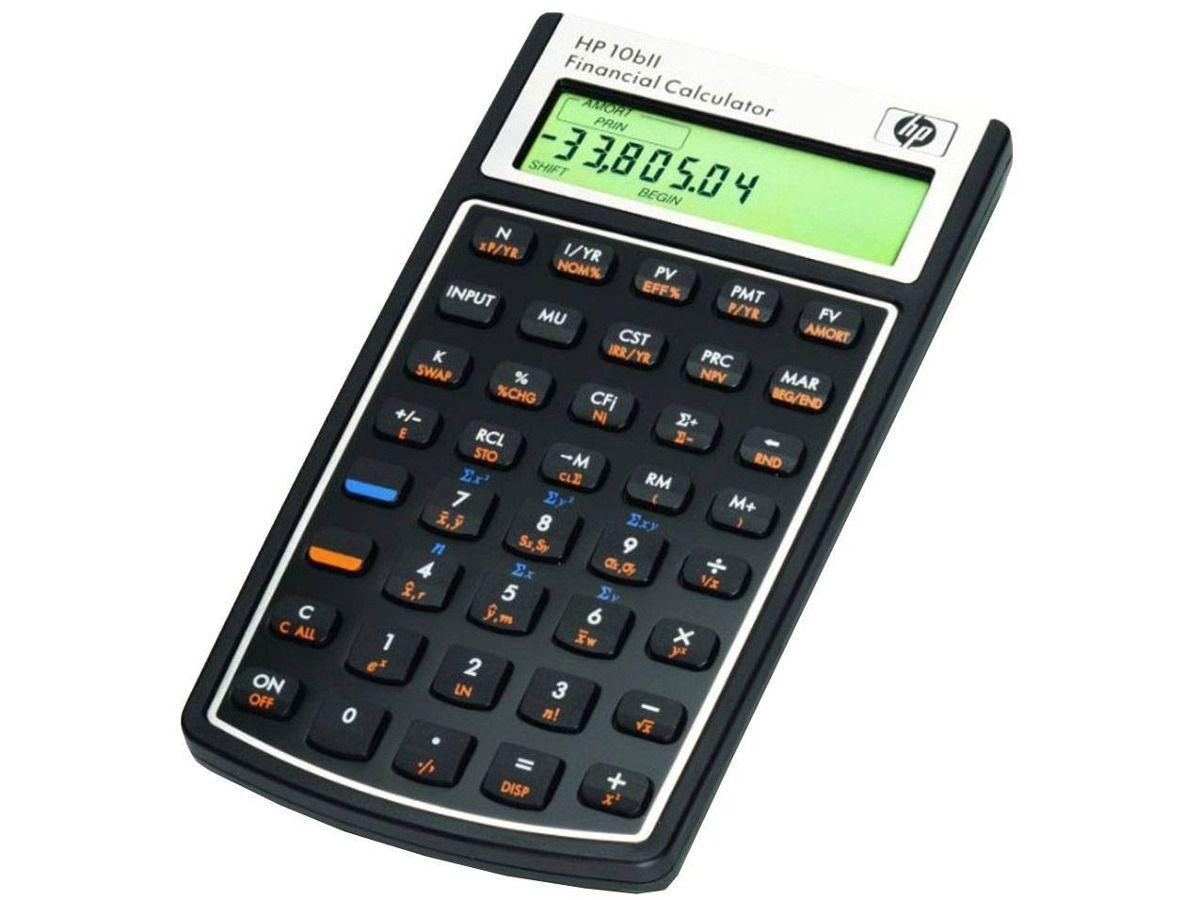 Calculadora HP LHP 10 BLL - Preta