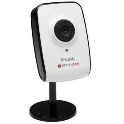 Câmera de segurança IP p/ internet D-link DCS-910 1.3MP