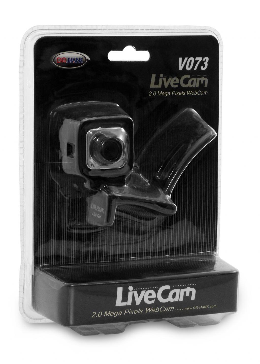 CâMERA Webcam 2 mega VC-V073 CP1B Dr-Hank
