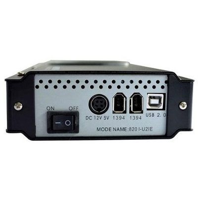 """Case para Hd Externo 3,5"""" Sata/IDE Firewire C/Fan 820 I-U2IE"""