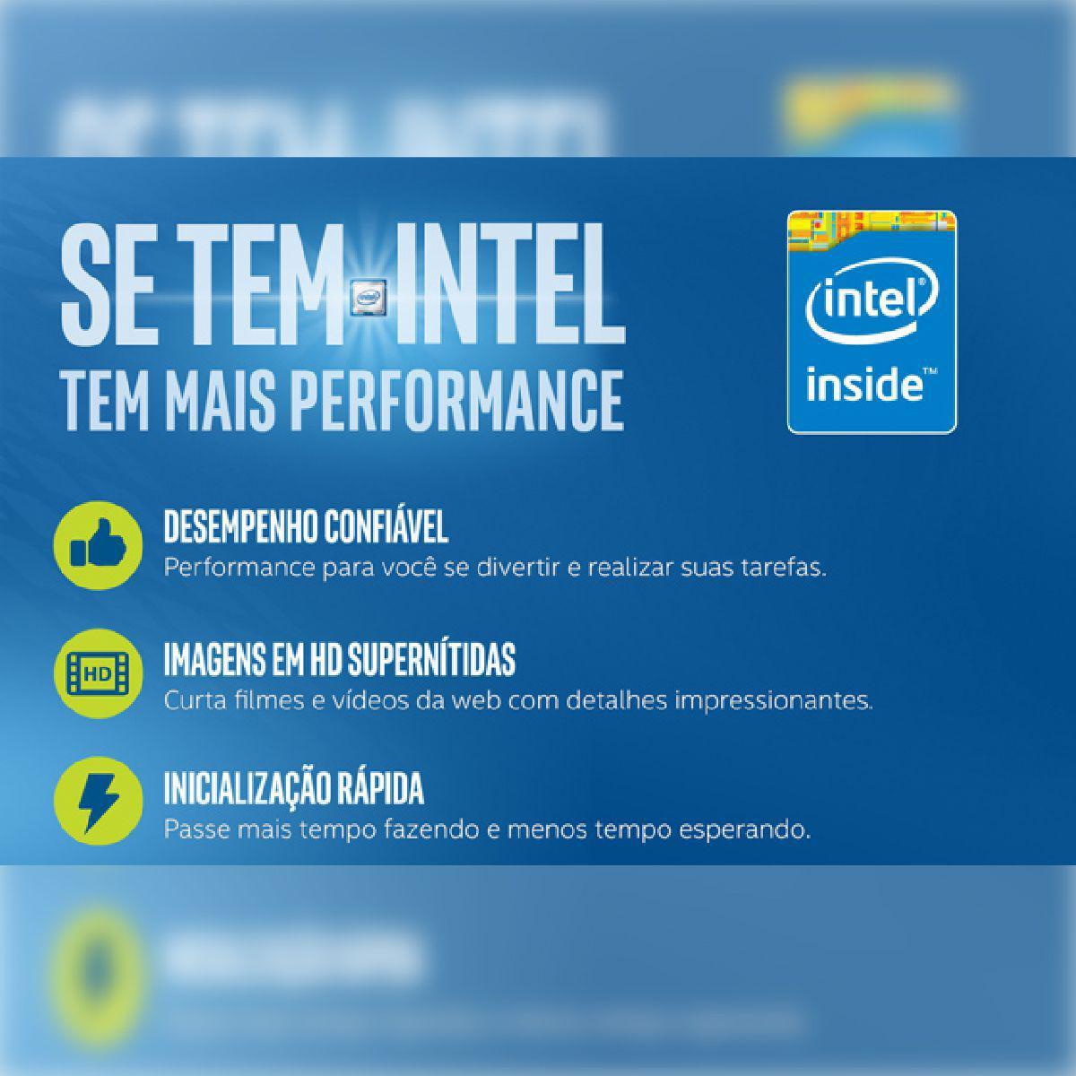 Computador Completo Intel C2D 4GB HD 500GB Win10 Monitor