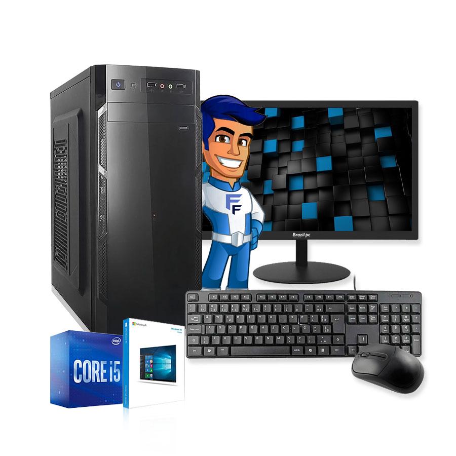 Computador Completo Intel Core i5 4GB HD 500GB Wifi Monitor