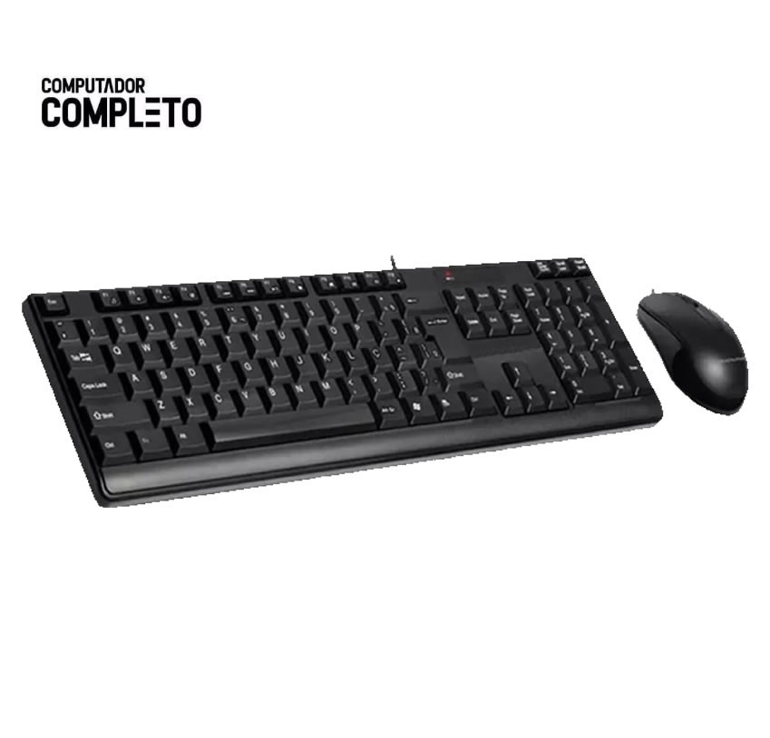 Computador Cpu Intel Core 2 Duo 4gb HD 500gb Teclado Mouse
